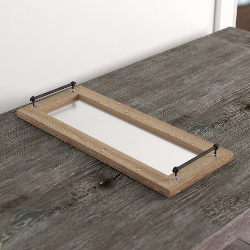 Bauxite Vanity Tray by Three Posts