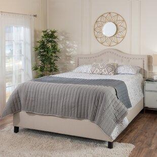 Willa Arlo Interiors Auda Queen Upholstered Panel Bed