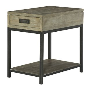 Upson Wood End Table by Three Posts Today Sale Only