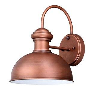Great Price Binne Outdoor Barn Light By Breakwater Bay
