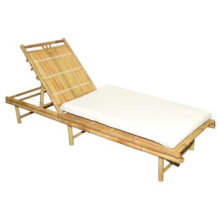 Bamboo54 Chaise Lounge with Cushions