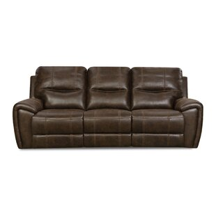Heinen Reclining Sofa by Alcott Hill