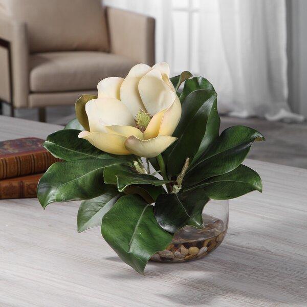 Silk Magnolia Centerpiece Wayfair