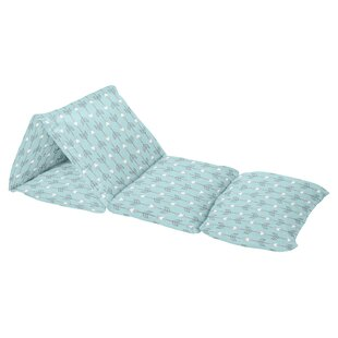 Earth and Sky Arrow Print Floor Pillow Lounger Cover