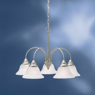 Ruhlman Traditional 5-Light Shaded Chandelier by Red Barrel Studio