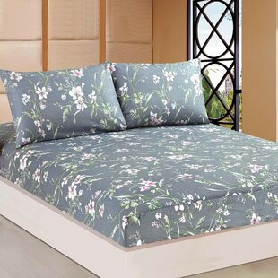 August Grove Boska 1000 Thread Count 100% Cotton Fitted Sheet