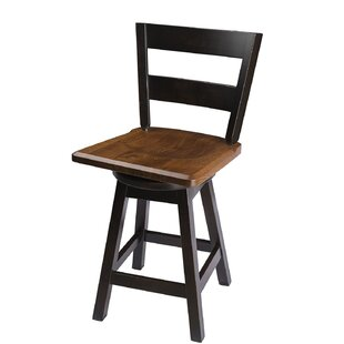Byxbee 30 Swivel Bar Stool Loon Peak