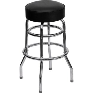 Jazmin 30 Swivel Bar Stool Ebern Designs