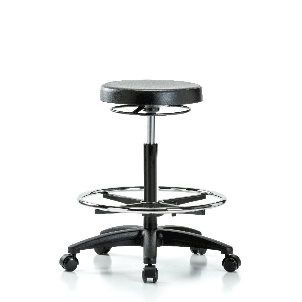 Miraculous Height Adjustable Lab Work Stool With Foot Ring Machost Co Dining Chair Design Ideas Machostcouk