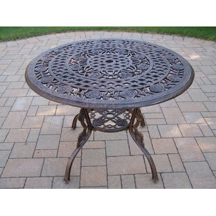 Tea Rose Metal Dining Table by Oakland Li..