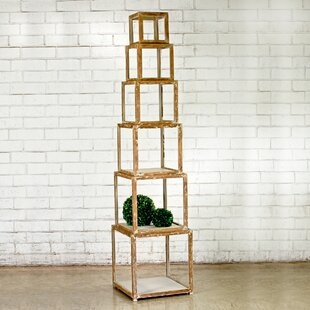 Alcide Piece Risers Cube Unit Bookcase