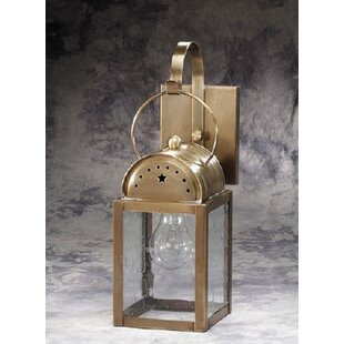 Darby Home Co Lawson 1-Light Outdoor Wall Lantern