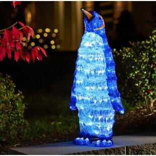 Standing Penguin Lighted Display By Konstsmide