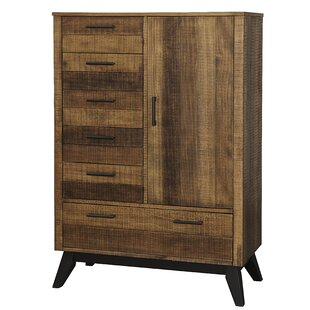 Hagy Chifferobe 6 Drawer Gentleman's Chest