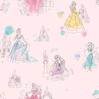 Room Mates Disney Princess Peel And Stick Wallpaper Reviews Wayfair