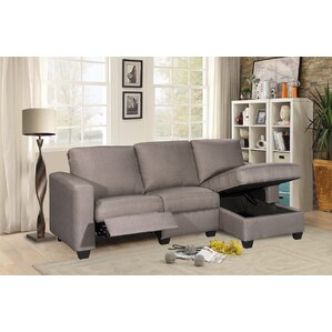 Andrey Storage Reclining Sectional by Latitu..