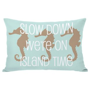 Island Time Outdoor Lumbar Pillow