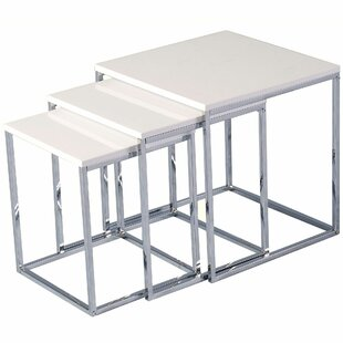 Review Kayleigh 3 Piece Nest Of Tables