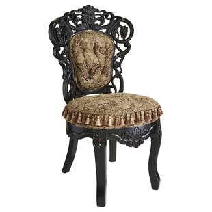 Ordinaire Victorian Parlor Fabric Side Chair