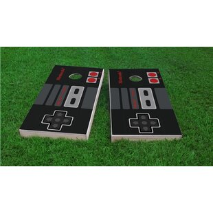 Custom Cornhole Boards Nintendo Controller Cornhole Game Set