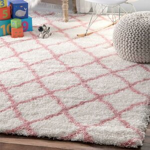Kellie Baby Pink Indoor Area Rug