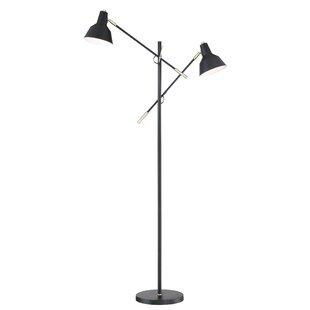 Read Reviews Brescia 65 Task Floor Lamp By Ivy Bronx