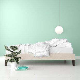 Review Olea Upholstered Platform Bed
