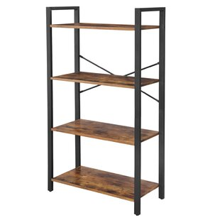Mayton Ladder Storage Living Room Etagere Bookcase