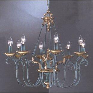 Classic Lighting Salzburg 8-Light Chandel..