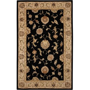 Price comparison Ottoville Hand-Tufted Black/Beige Area Rug By Darby Home Co