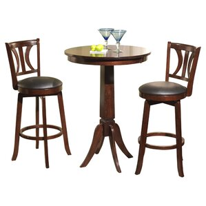 Loami 3 Piece Pub Table Set by Darby Home Co