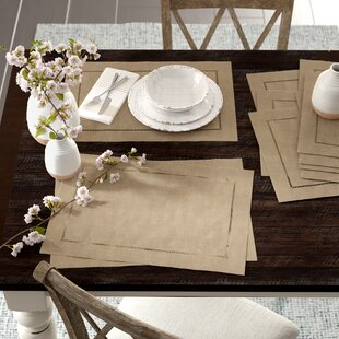 Kitt Hemstitched Placemat (Set of 12)