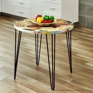 Dareau Reclaimed Wood End Table