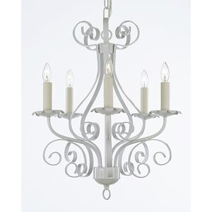 Garden 5-Light Candle-Style Chandelier