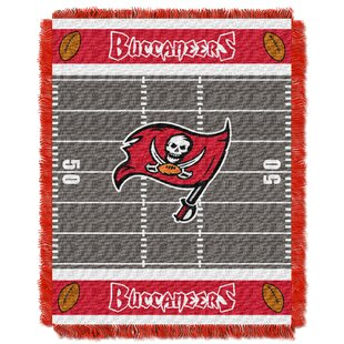Best NFL Buccaneers Field Baby Blanket By Northwest Co.