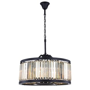 Askerby 8-Light Drum Chandelier by Everly Quinn