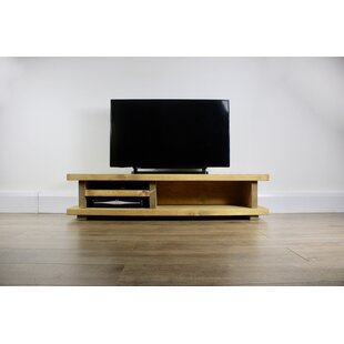 Check Price Burlywood TV Stand For TVs Up To 50