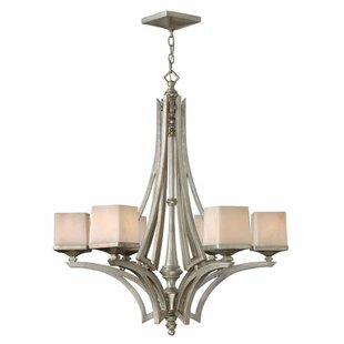 Darby Home Co Jamel 6-Light Shaded Chandelier