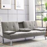 Daune Twin or Smaller 65.7 Tufted Back Convertible Sofa by Latitude Run®