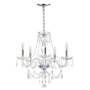 Willa Arlo Interiors Raegan 5-Light Candle Style Chandelier
