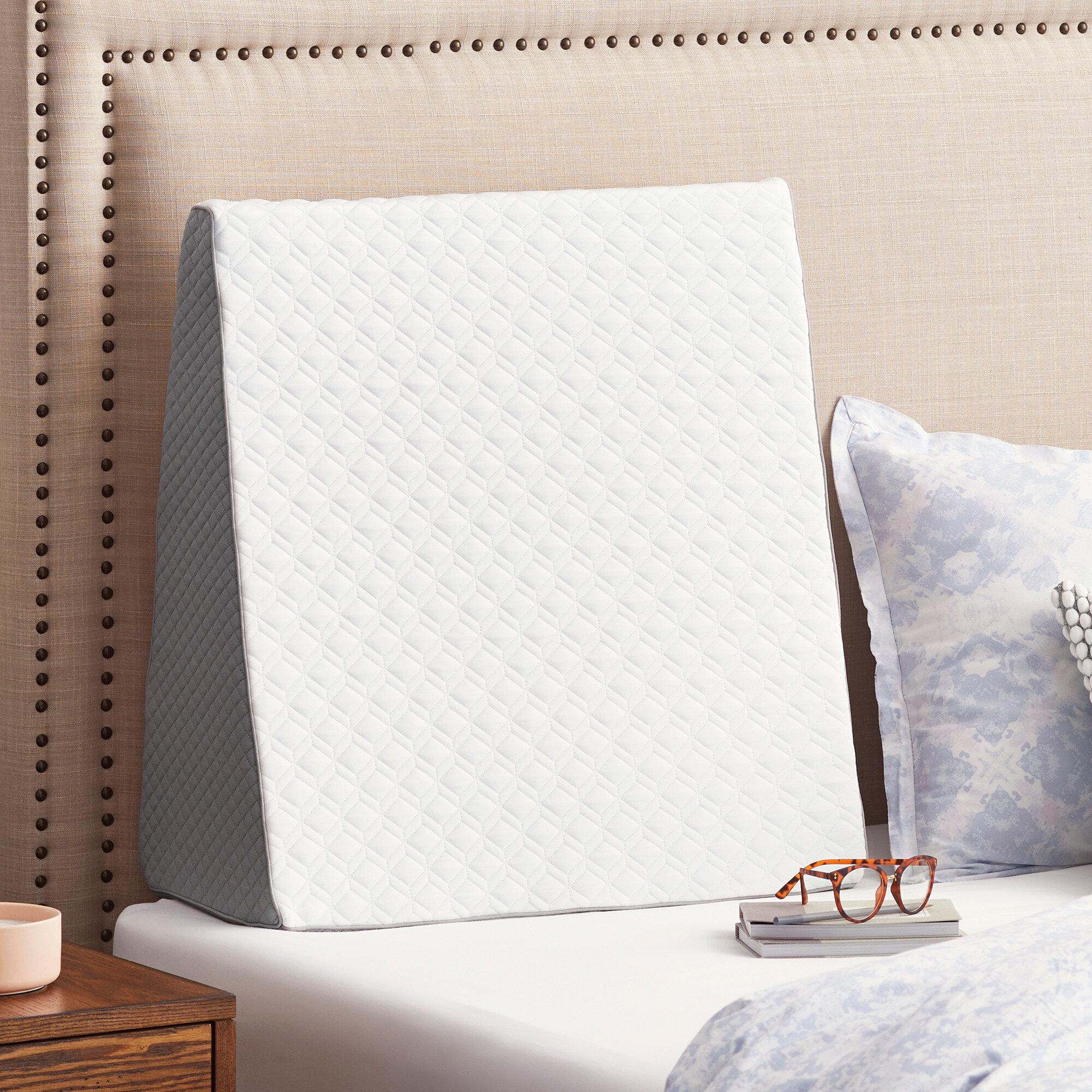 Sealychill Gel Memory Foam Wedge Pillow Reviews Wayfair