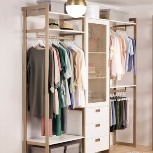 Drawers Included Soft Drawer Close Closet Systems You Ll Love In 2021 Wayfair