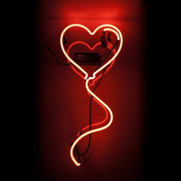 oliver gal heart balloon neon sign wayfair