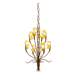 Napa 8-Light Shaded Chandelier by Kalco