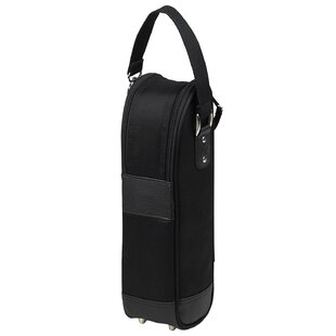 New York Single Bottle Wine Carrier in Black