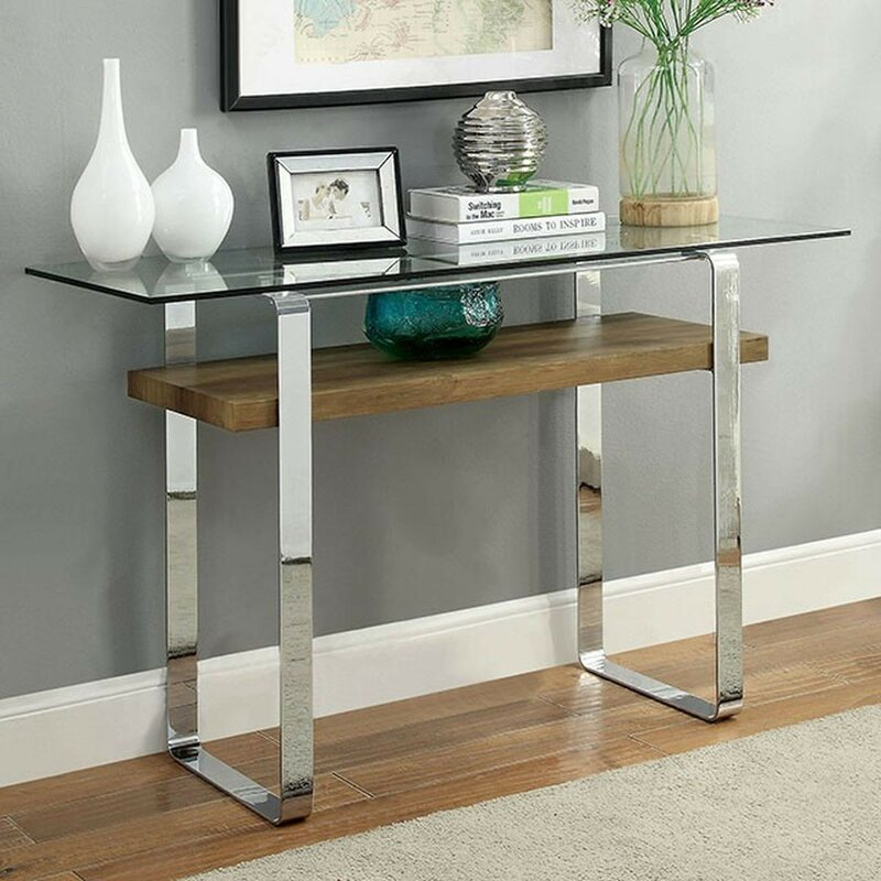 Orren Ellis Scorpio 18 Quot Console Table Wayfair