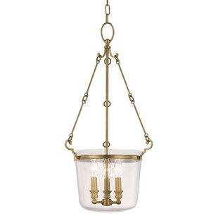 Edington 3-Light Urn Pendant by Darby Home Co