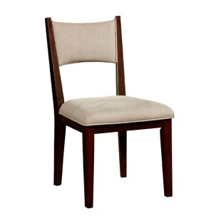 Delaria Upholstered Dining Chair (Set of 2) by Gracie Oaks