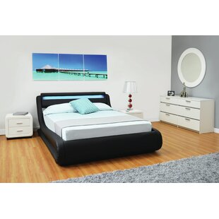 Neill Serpentine Full Storage Platform Bed