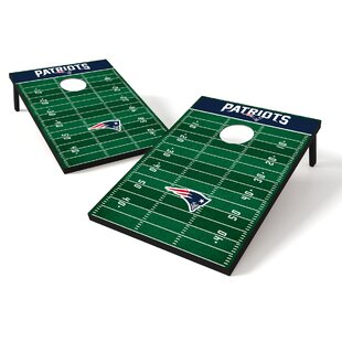 NFL Football Cornhole Set By Tailgate Toss